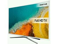 """White Samsung 40"""" LED smart 3D wifi built USB MEDIA PLAYER HD FREEVIEW and freesat full hd"""