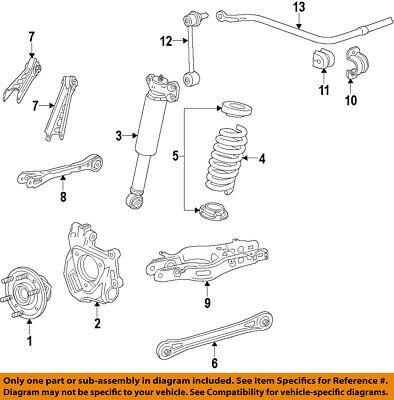 Cadillac GM OEM 13-17 ATS Rear-Upper Control Arm 23105024