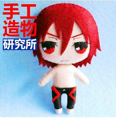 Anime Free! Iwatobi Swim Club Cosplay Costume Cute DIY toy Cute Doll material (Diy Anime Costume)