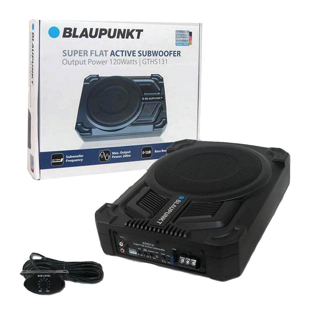 "BLAUPUNKT GTHS131 200W 8"" Car Under Seat Super Slim Powered"
