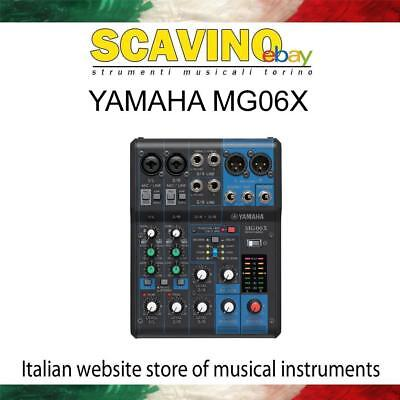Yamaha MG06X Mixer con Multieffetto