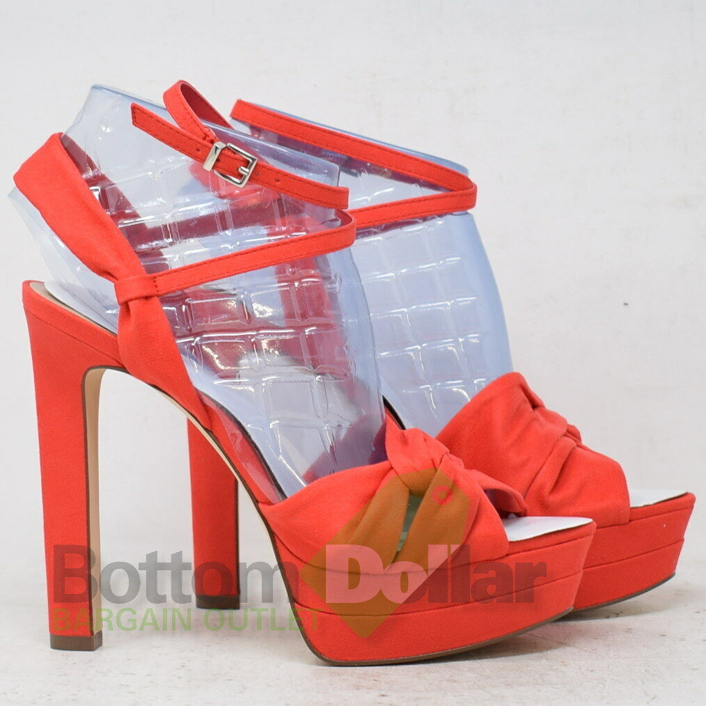 Call It Spring 600-003-043 Abaenia Red Suede Textile Women's High Heels