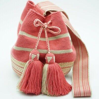Mochila wayuu original bolso hecho a mano bag