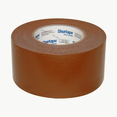 Shurtape PC-600 General Purpose Grade Duct Tape: 3 in. x 60 yds. (Brown) - Brown Duct Tape