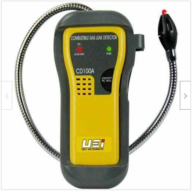UEI Test Instruments CD100A Combustible Gas Leak Detector - BRAND NEW