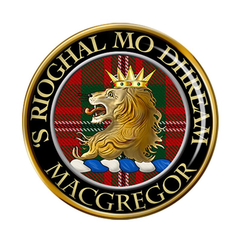 Macgregor Scottish Clan Pin Badge