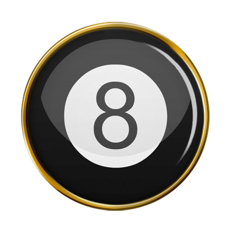 8 Ball Pool Pin Badge