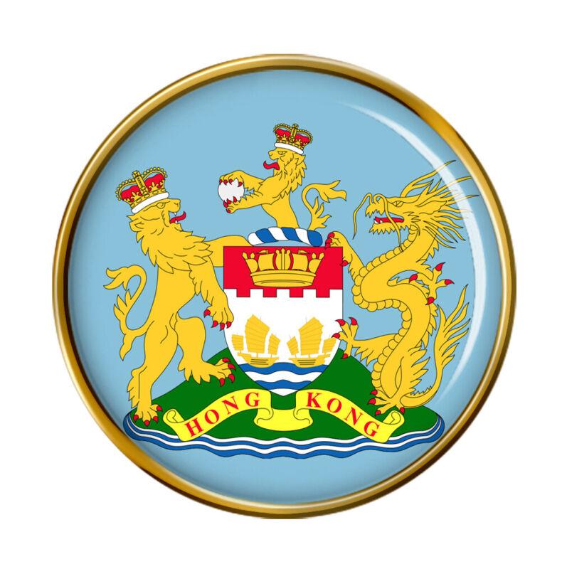 British Hong Kong Pin Badge