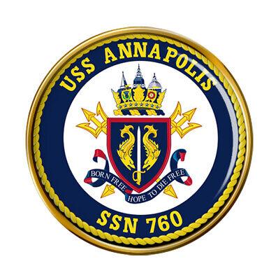 Uss Anapolis (SSN-760) Pin Insignia