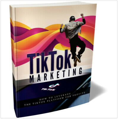 Tiktok Marketing - Ebook Pdf With Full Resell Rights