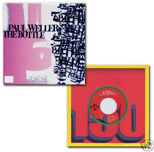 PAUL-WELLER-The-Bottle-2-x-UK-vinyl-7-singles-NEW-UNPLAYED