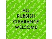 ALL RUBBISH CLEARANCES WELCOME