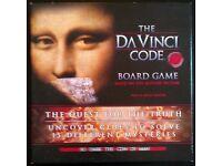 'The Da Vinci Code' CD Board Game (new)