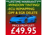 ** OPEN TILL LATE! ** CAR WINDOW TINTING \\ ECU REMAPPING \\ DPF & EGR DELETE!
