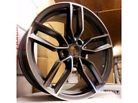 "4NEW 19"" AUDI S3 STYLE ALLOYS WHEELS A3 A4 A5 A6 A7 A8 S4 S5 S6 S7 S8 RS3 RS4 RS5 RS6 RS7 GMF"