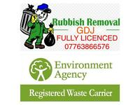 waste and rubbish removed