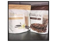 6 packets of juice plus shakes powder