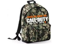 Call Of Duty ; Black Ops Backpack