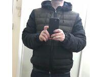 Zegna designer hooded jacket - brand new - size small
