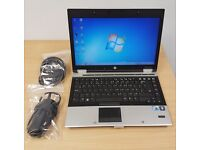 HP Elitebook 8440p Laptop with i5 Processor. 14 inch Screen. Excellent condition.