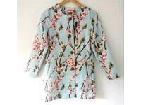 Joe Browns cherry blossom floral jacket, size 10!