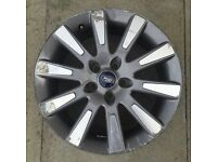 "FORD FOCUS 17"" ALLOY WHEEL, GENUINE FORD"