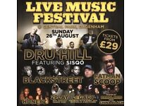 Now that's a festival ft Dru Hill, Sisqo, Blackstreet, Fatman Scoop and more!