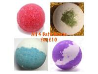 All 4 Bath Bombs for Only £10!
