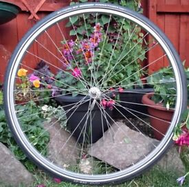 RIGIDA VINTAGE 27IN ALLOY RIM ON A SACHS QUICK RELEASE HUB