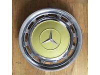 Classic Mercedes 123 series Hubcaps set Vintage