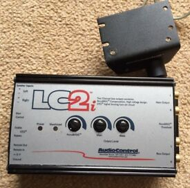 AudioControl LC2i 2 Channel Line Level Converter & ACR1 Sub Level Controller