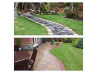 Gardening/landscaping and designing. We do supply and fit