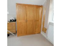2 Wardrobe door assembly solid oak