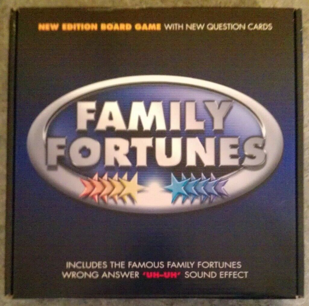 New Edition 'Family Fortunes' Board Game (new) | in Reading, Berkshire |  Gumtree