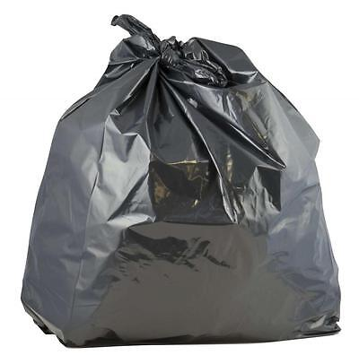 Industrial Black Bin Liners Sacks Bags Heavy Duty Strong 18x29x38