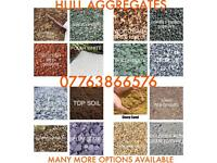 stones, gravel, cobbles, sand, type1, and many more aggregates