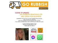 GO RUBBISH REMOVALS♻️🚚Glasgow-Paisley-trade- waste-junk-house clearance-no skip
