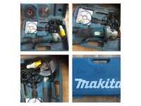 """Makita 110v angle grinder 4 1/2"""" spares or repairs"""