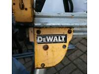 £35 DeWalt saw stand (no saw brackets)