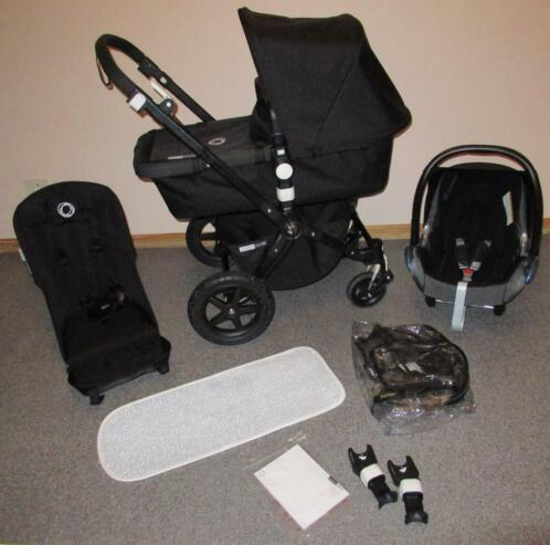 All Black Bugaboo Cameleon 3 - COMPLEET