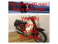 1985 red Honda 90