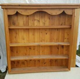 Pine wall shelf