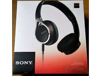 Sony MDR-10RC high res audio headphones unopened box