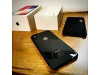 iPhone X (64GB - Unlocked) black