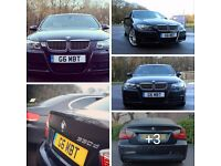 BMW 330d M Sport e90 2006/56 Diesel Black 1 series/3 series/5 series/6 series (not Audi, Mercedes)