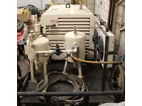 Compressor & sand blasting equipment