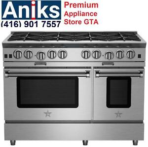 BlueStar BSP488B 48in Gas Range Reg $15669 Sale $11499 (416) 901 7557 http://www.aniksappliances.com/