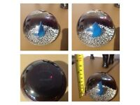 LIMITED EDITION CAITHNESS GLASS PAPERWEIGHT - ICE FLAME 378/1000
