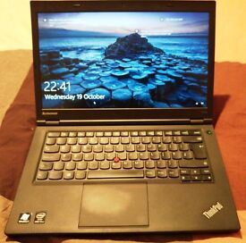 Lenovo T440p. 14inch. i7 4600M 4th Gen. 16GB Ram. 168GB SSD HD. 1080p Screen. Still under warranty