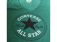 GREEN CONVERSE T-SHIRT